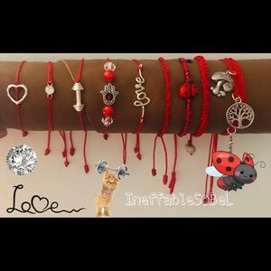 Jewelry - Red Good Luck and Personalized designs
